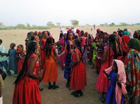 Arabic nomads Chad