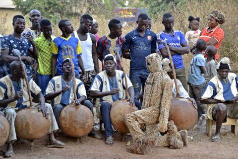 Danza boloye en Costa de Marfil