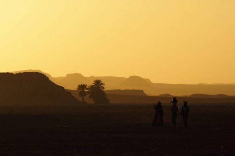 Demi Salt Mines in Chad