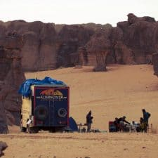 Overland trips in central Africa