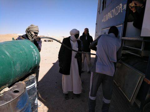 Gasoil libio en Chad