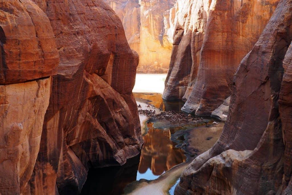 Guelta de Archei in Ennedi
