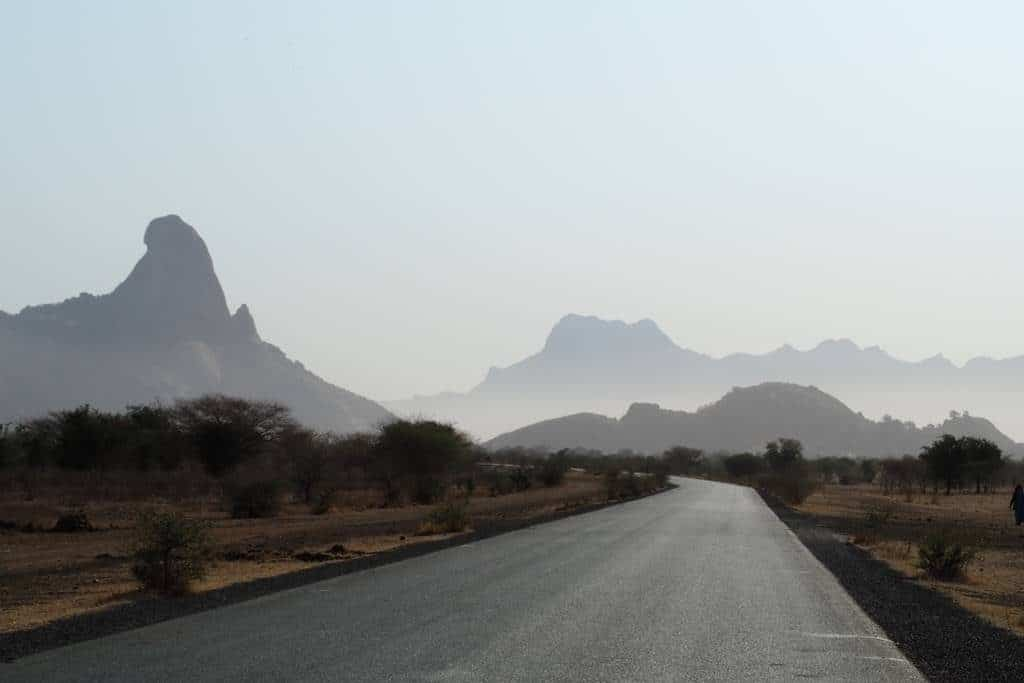 Guera mountains in Chad