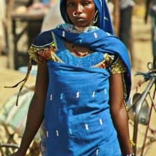 Mujer fulani en Chad