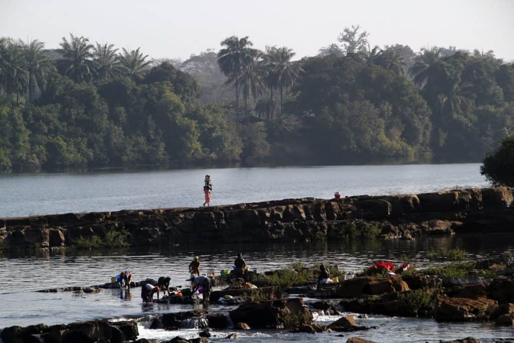 Saltinho Falls, Cantanhez Guinea Bissau