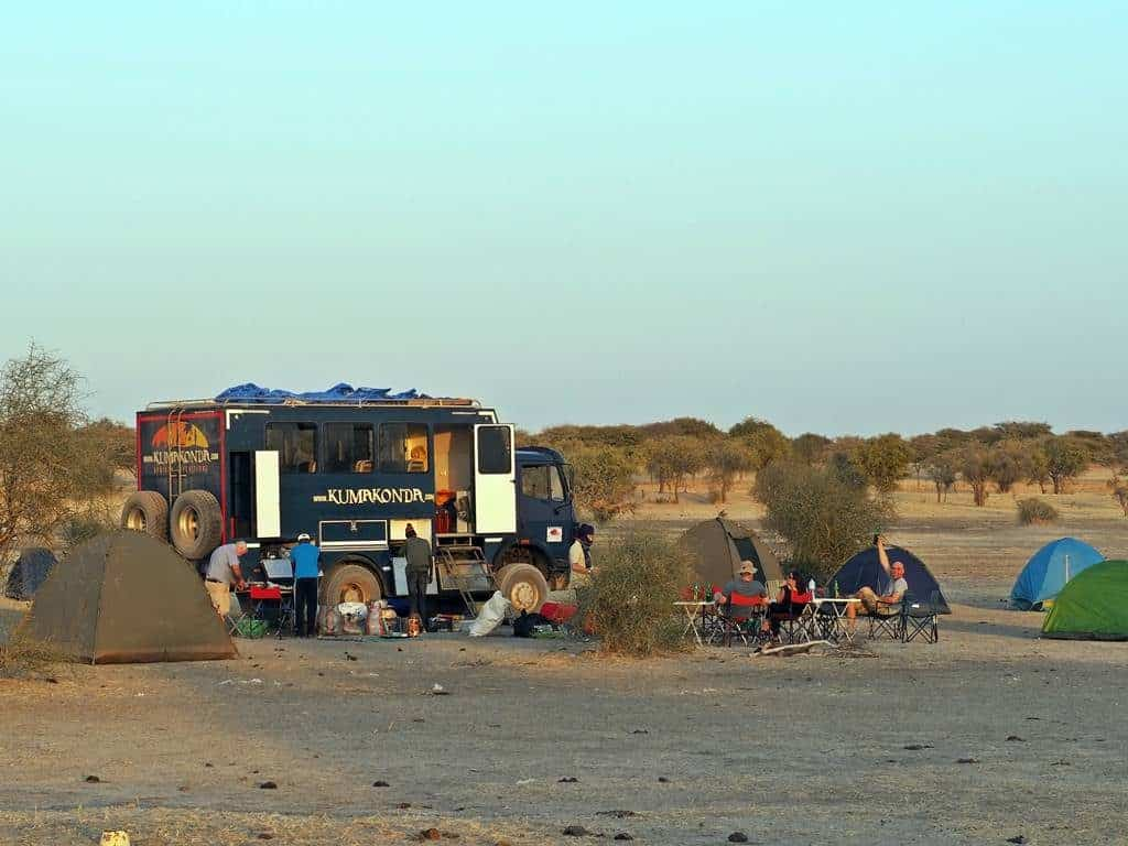 Overland trip to Chad