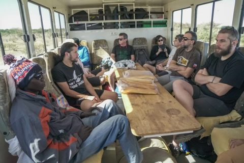 Africa overland trip