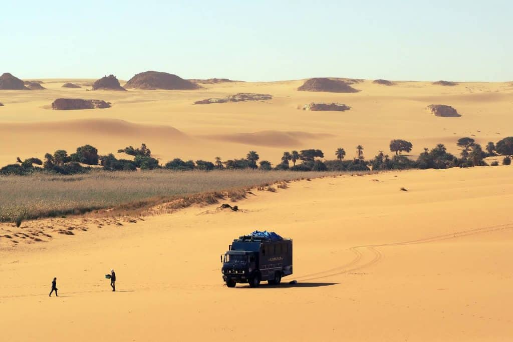 Overland tours in Chad