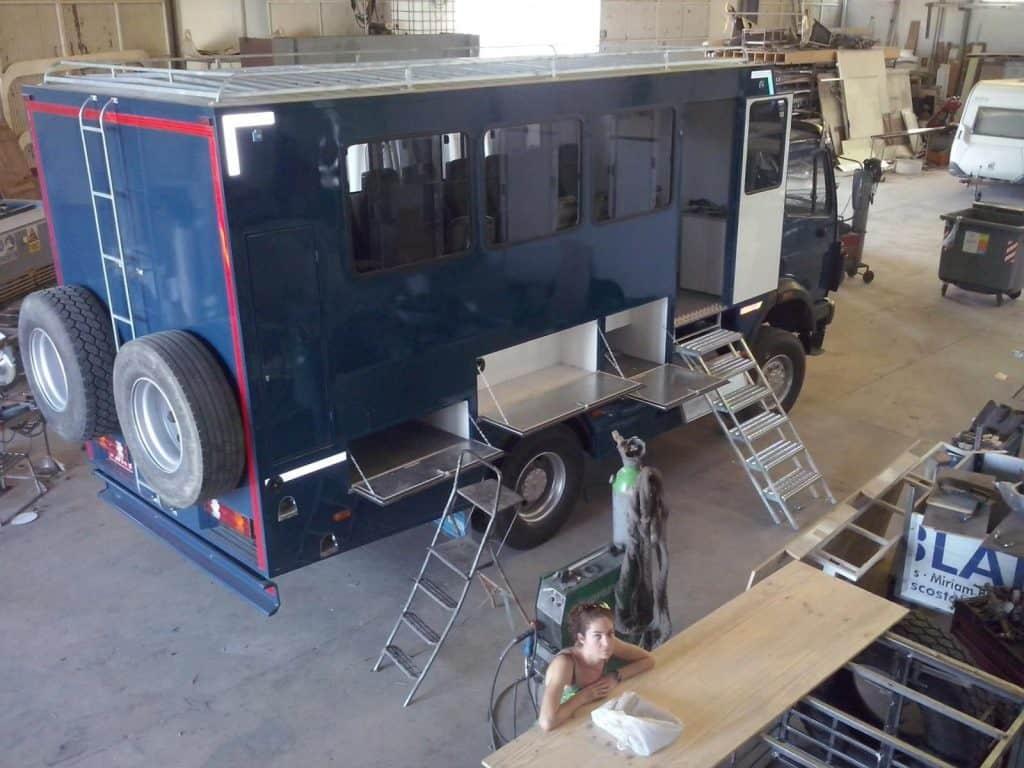 Cómo construimos nuestro camión