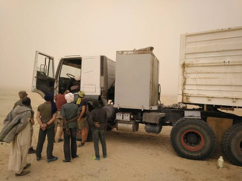 Travelling in Chad