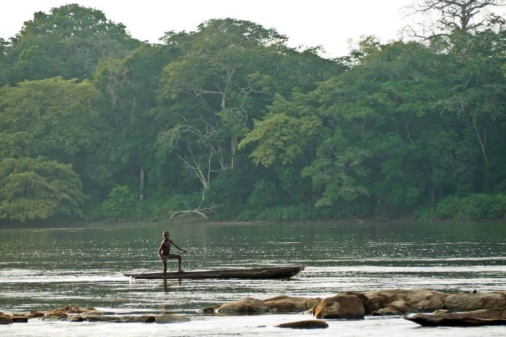 Expedition to Lac Tele in Congo