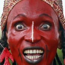 Mbororo boy Gerewol