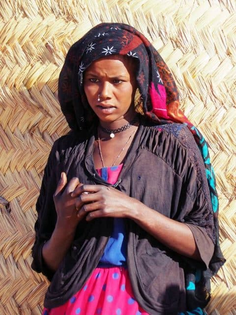 Tubu people in Chad