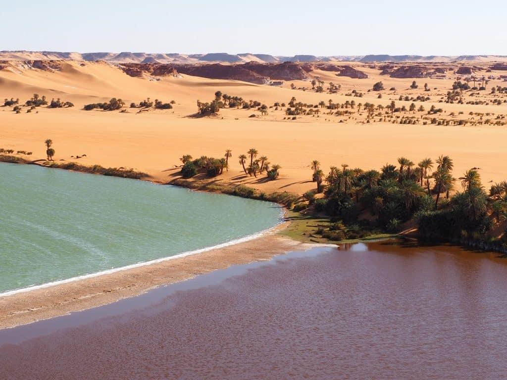 Ennedi and Ounianga lakes