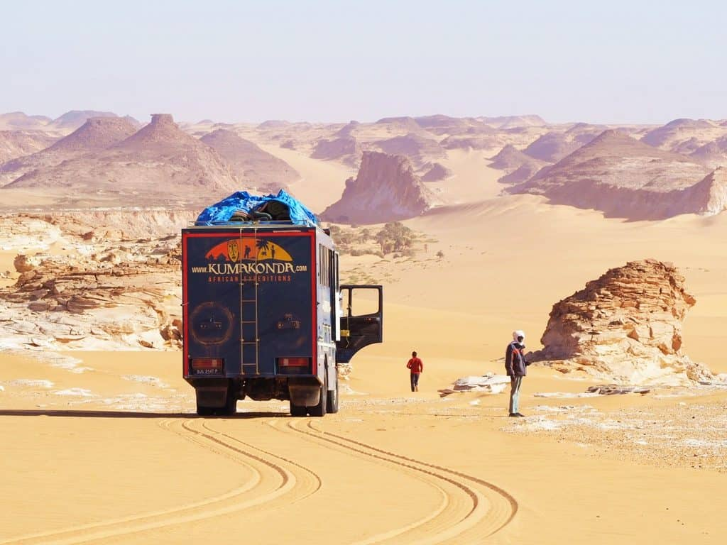 Overland trips in Chad
