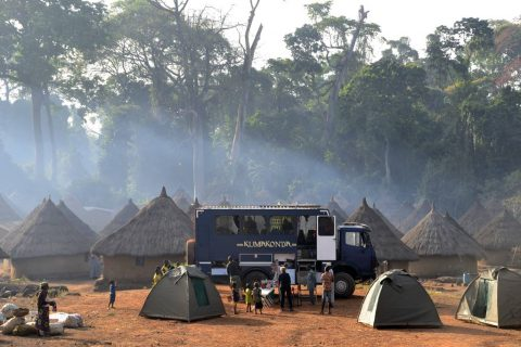 Overland tours in West Africa