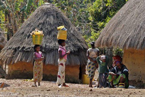 Poblado fulani en Fouta Djalon