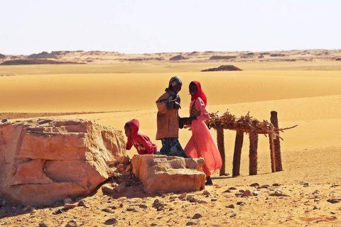 Sahara people Chad