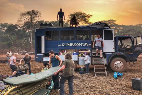 African overland expedition