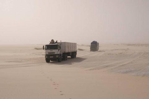 Viajes al desierto del Chad